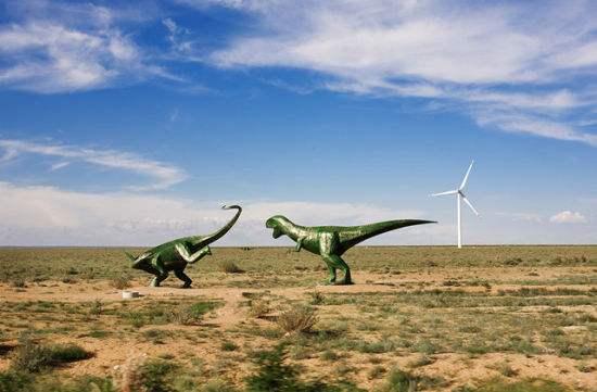 二连盆地白垩纪恐龙国家地质公园